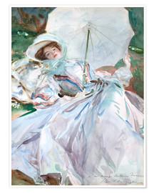John Singer Sargent - Lady with umbrella
