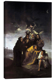 Canvas  The Spell, The Witches - Francisco José de Goya