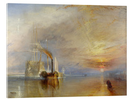 Acrylic print  The fighting Temeraire - Joseph Mallord William Turner