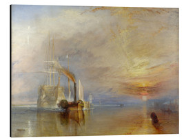 Alu-Dibond  The fighting Temeraire - Joseph Mallord William Turner