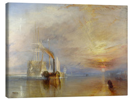 Canvas print  The fighting Temeraire - Joseph Mallord William Turner