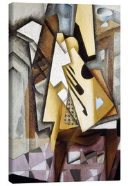 Canvas print  Guitar on a Chair - Juan Gris