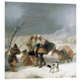 Forex  The Snowfall, The Winter - Francisco José de Goya