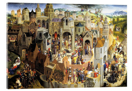 Acrylic print  Passion of the Christ - Hans Memling