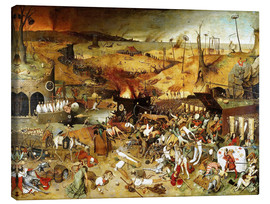 Canvas  The Triumph of Death - Pieter Brueghel d.Ä.