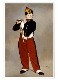 Premium poster  The Fifer - Edouard Manet