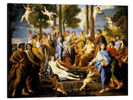 Aluminium print  Parnassus, Apollo and the muses - Nicolas Poussin