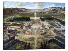 Canvas print  Castle and gardens of Versailles - Pierre Patel