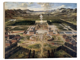 Pierre Patel - Castle and gardens of Versailles