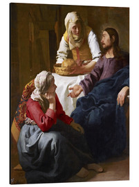 Jan Vermeer - Christ in the house of Martha and Mary