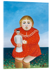 Henri Rousseau - Girl with a doll