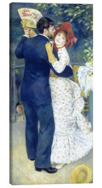 Canvas print  Dance in the country - Pierre-Auguste Renoir