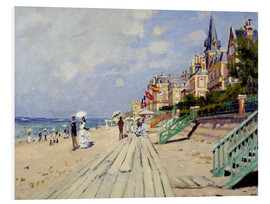 Forex  The beach at Trouville - Claude Monet