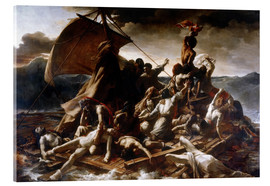 Acrylic glass  Raft of the Medusa - Theodore Gericault
