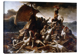 Canvas print  Raft of the Medusa - Theodore Gericault
