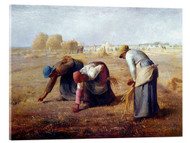 Acrylic print  The Gleaners - Jean-François Millet