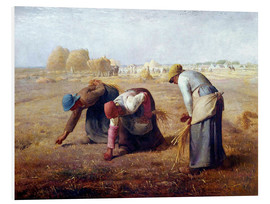 Foam board print  The Gleaners - Jean-François Millet