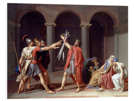 Foam board print  Oath of the Horatii - Jacques-Louis David