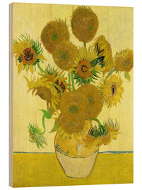 Wood  Sunflowers - Vincent van Gogh
