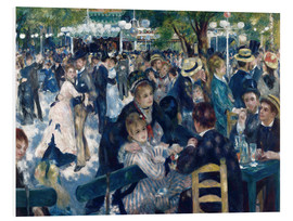 Forex  Ball at the Moulin de la Galette - Pierre-Auguste Renoir