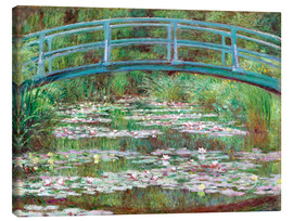 Canvas print  Waterlily pond - Claude Monet