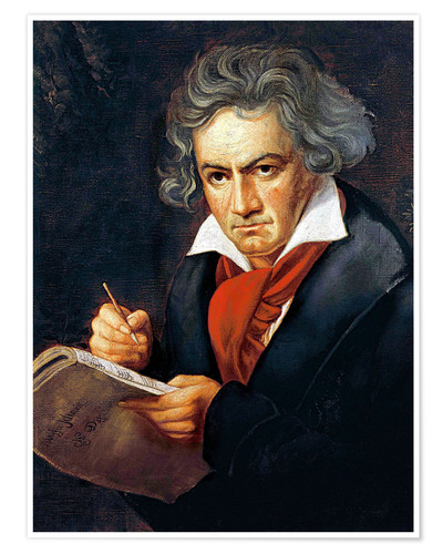 Ludwig Van Beethoven Composing Posters And Prints
