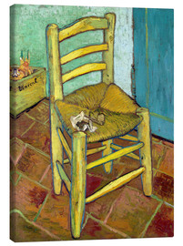 Canvas print  Van Gogh's Chair - Vincent van Gogh