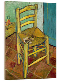 Wood  Van Gogh's Chair - Vincent van Gogh