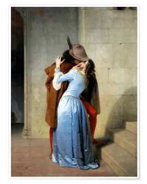 Poster  The kiss - Francesco Hayez