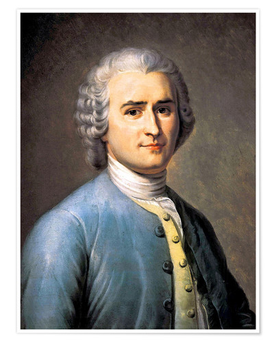 Jean Jacques Rousseau Posters And Prints Posterlounge Co Uk