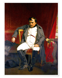 Premium poster Napoleon after his abdication