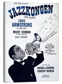 Canvas print  Louis Armstrong New Orleans