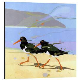 Aluminium print  Shorebirds 2