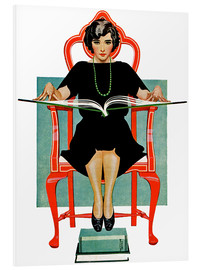 Forex  reading Nancy - Clarence Coles Phillips