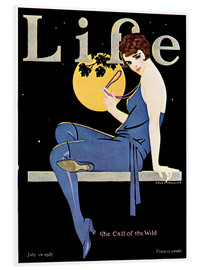 Foam board print  Life Magazine, July 14, 1927 - Clarence Coles Phillips