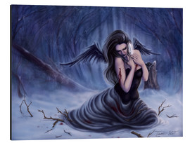 Aluminium print  Fallen Angel - Last of My Innocence - Tiffany Toland-Scott
