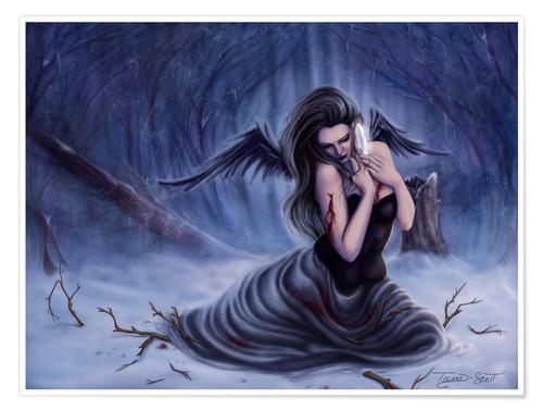 Premium poster Fallen Angel - Last of My Innocence