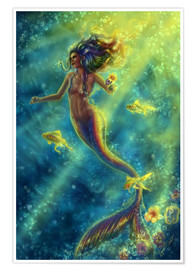 Tiffany Toland-Scott - Rainbow Mermaid - Forbidden Desire