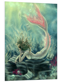 Forex  Reading Mermaid - Lost Books - Tiffany Toland-Scott