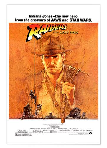 Premium poster Indiana Jones- Raiders of the lost ark