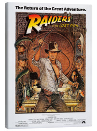 Canvas print  Indiana Jones - Raiders of the lost ark