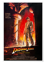 Premium poster Indiana Jones and the Temple of Doom