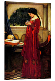 Acrylic glass  The crystal ball - John William Waterhouse