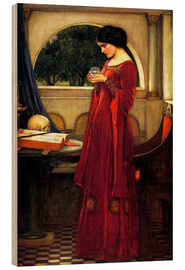 Wood  The Crystal Ball - John William Waterhouse