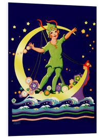 Foam board print  Peter Pan - Lawson Fenerty