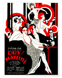 Premium poster  dry Martini - Advertising Collection
