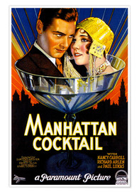 Premium poster  Manhattan Cocktail - Advertising Collection