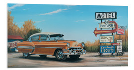 Foam board print  Motel Route 66 - Georg Huber
