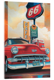 Acrylic print  Route 66 Cafe - Georg Huber