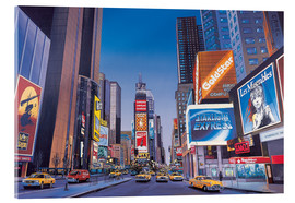 Acrylic print  Times Square - Georg Huber